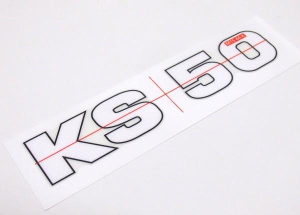 Zündapp KS 50 Aufkleber Sticker Logo Mofa Moped Mokick #58