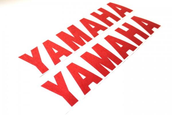 2x Yamaha Aufkleber Sticker Rot Aerox BWS Slider Neos R1 R6 DT MX XS #26