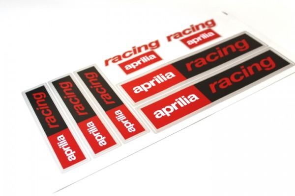 Aufkleber Satz Sticker Set RACING Aprilia SR 50 RS RSV TUONO Motorrad #5