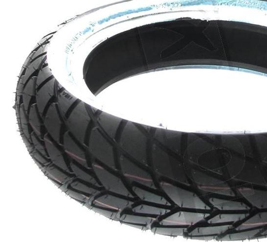 Reifen SAVA 130/70-12 MC20 WEIß TL Weißwandreifen Retroreifen Retro Oldtimer
