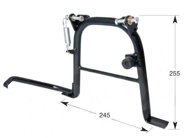 Hauptständer verstärkt Ständer Buzzetti - Kymco Agility Basic Carry City MMC One RS 50 4 Takt