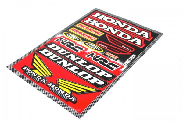Aufkleber Satz Sticker Set Honda CBR HRC Cemoto Dunlop Motorrad #34