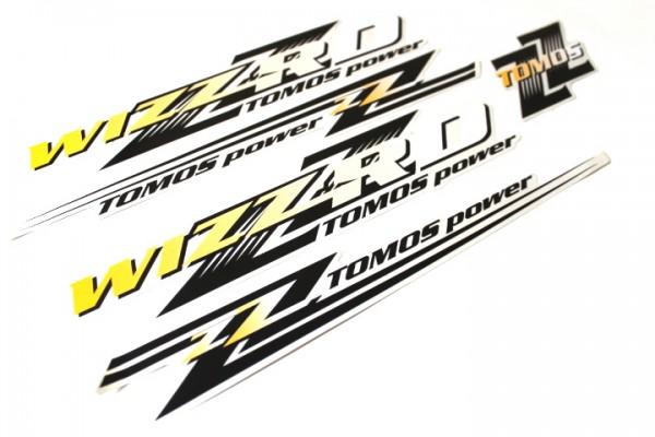 Tomos Aufkleber Sticker Set WIZARD Classic Dekor Satz Mofa Mokick A35 #21