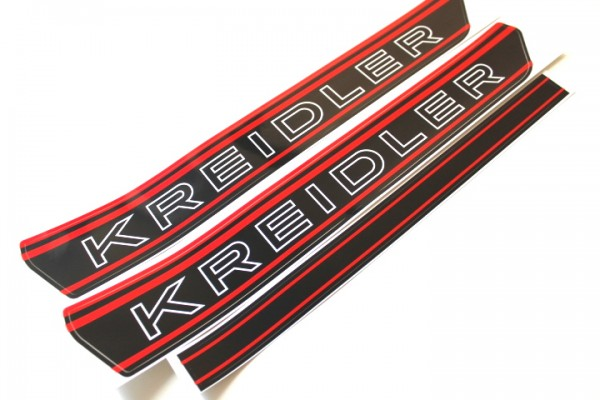 Kreidler Tank Aufkleber Sticker Sw Rot Rmc Rs Rmcs Florett Mofa 14