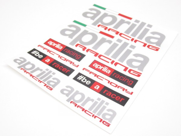 Aprilia Aufkleber Sticker SR RS 50 125 Racing Ditech Factory R Mille Tuono #2a