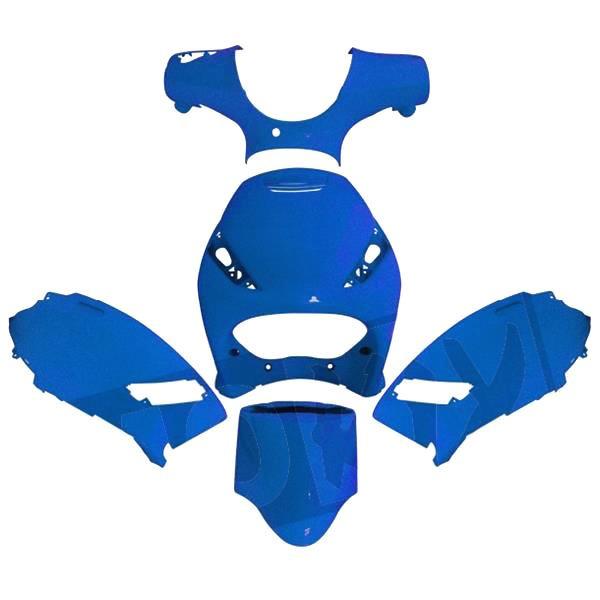 Verkleidungssatz Verkleidung Satz Blau - Piaggio Zip 2000