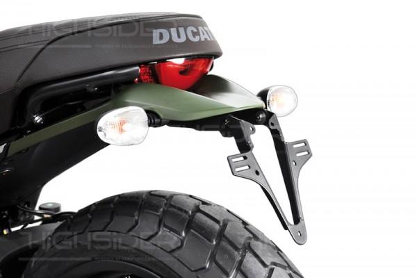 Nummernschild Halterung Kennzeichenhalter Ducati Scrambler 800 Ab
