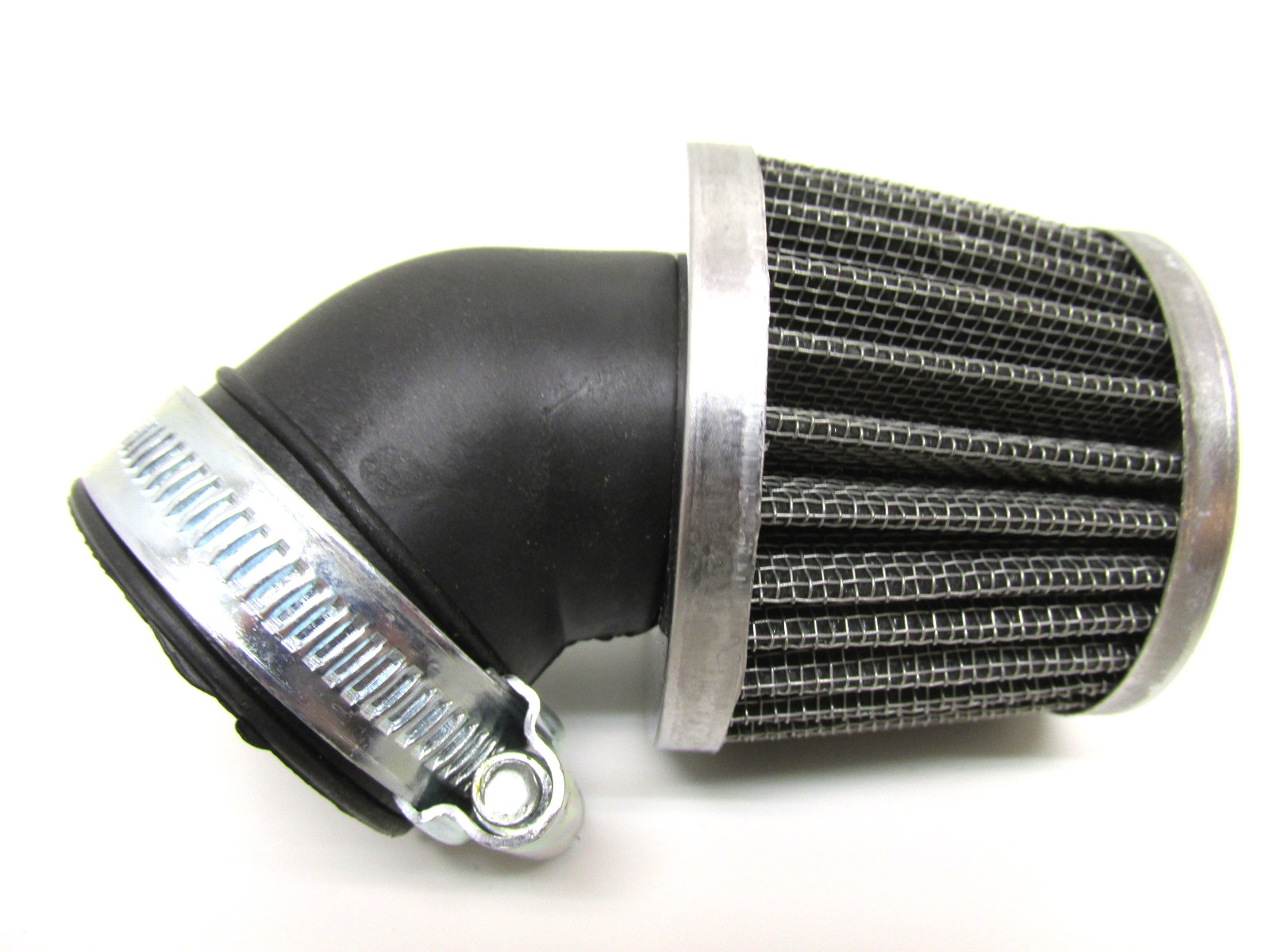 universal sportluftfilter tuning luftfilter 28 mm 90 grad mofa moped mokick roller simson. Black Bedroom Furniture Sets. Home Design Ideas