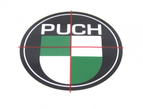 Puch Aufkleber Sticker Logo Maxi Monza Cobra X 50 D=40mm Mofa Moped Mokick #59