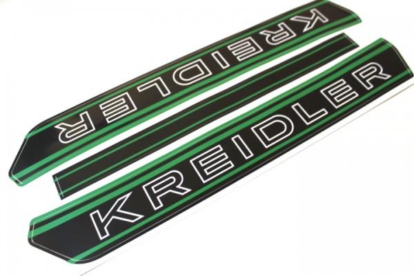 Kreidler Tank Aufkleber Sticker S/W Grün RMC RS RMCS Florett Mofa #13