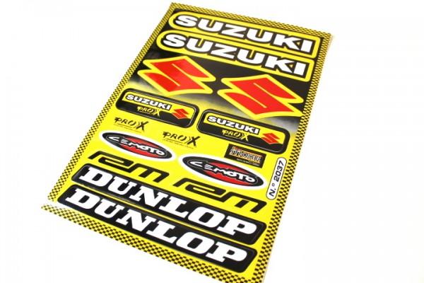 Suzuki Aufkleber Sticker Set Dekor Satz DUNLOP GSXR GS Katana Motorrad #19