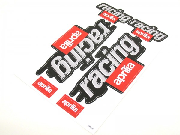 Aufkleber Satz Sticker Set Racing Aprilia Sr 50 Rs Rsv 125 Roller 9