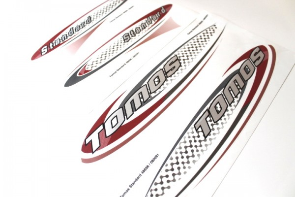 Tomos Aufkleber Sticker Set Standard Dekor Satz Mofa Mokick Moped A35 #22