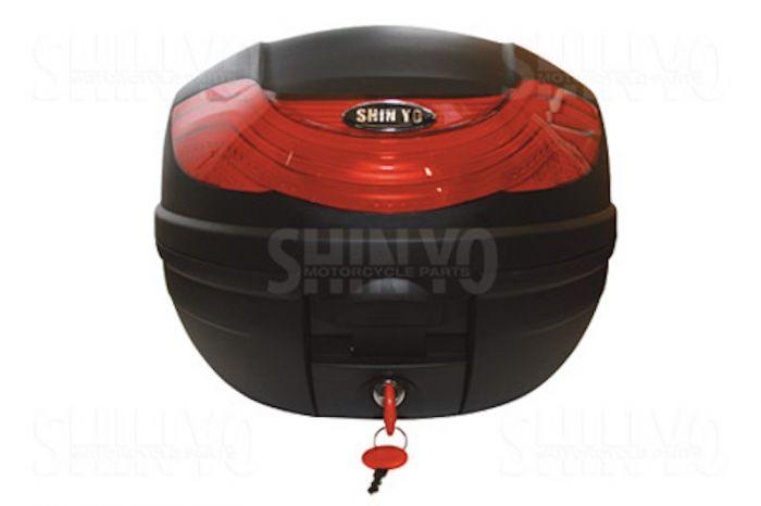 topcase helmfach abschlie bar case koffer torino 32 liter. Black Bedroom Furniture Sets. Home Design Ideas