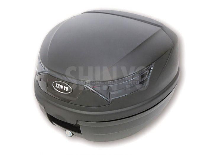 shin yo roller topcase rimini 32 liter f r 1 helm schwarz. Black Bedroom Furniture Sets. Home Design Ideas