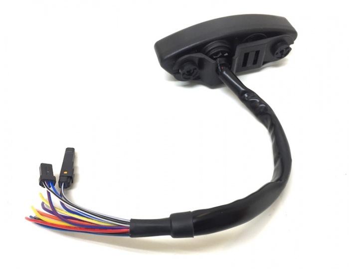 Digital Tacho Tachometer DB EX-02 mit ABE 12V Roller Scooter Motorrad