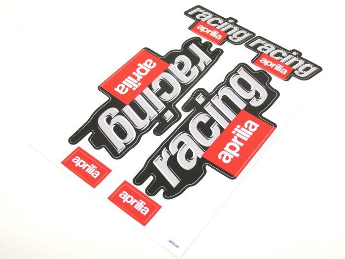 Aufkleber Satz Sticker Set RACING Aprilia SR 50 RS RSV 125 Roller #9